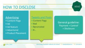 Sponsored Blog Post Ads ASAI How To Disclose